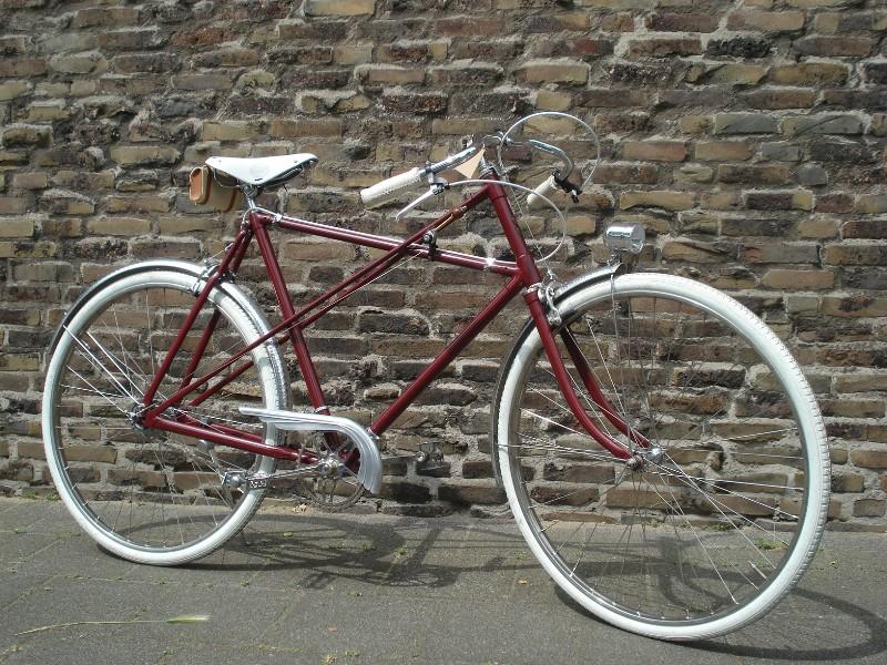Kreuzrahmen Randonneur | Bikes to Remember