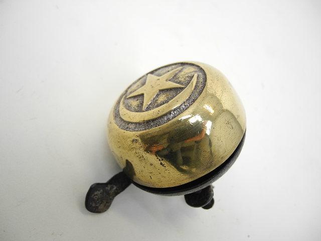 Antieke Bronzen Bel.Mooie Antieke Bel Met Bronzen Deksel